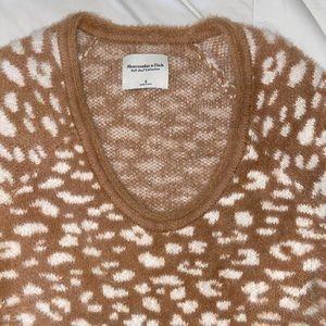 A&F leopard sweater
